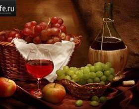 Виноградная наливка фото