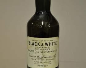 Виски блэк энд вайт   виски black and white фото