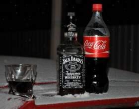 Виски с колой – самый популярный коктейль в россии фото