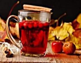 Витаминные напитки из красной рябины фото