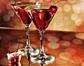 Вкусные коктейли на новый год фото