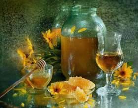 Водка с медом от простуды фото