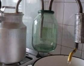 Делаем самогонный аппарат из бидона фото