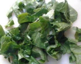 Зеленый коктейль со шпинатом для здоровья фото