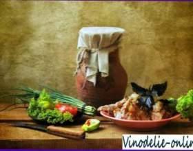 Жаркое из кролика с белым вином фото
