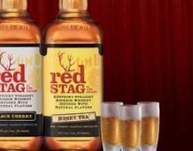 Знаменитый американский бурбон jim beam red stag фото