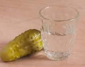 Как правильно пить водку фото
