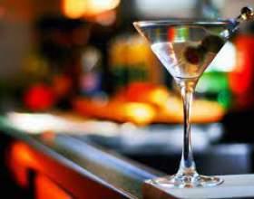Коктейль с мартини фото