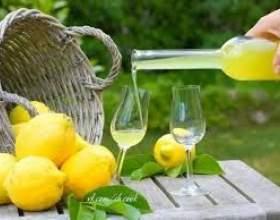 Лимонный ликер фото