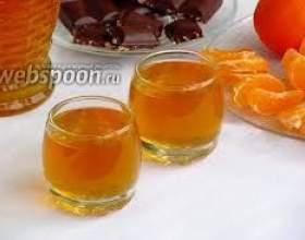 Мандариновый ликер фото