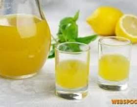 Настойка из лимона фото