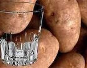 Самогон из картофеля фото