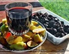 Вино из чернослива фото