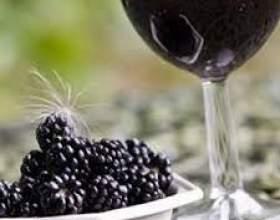Вино из ежевики фото