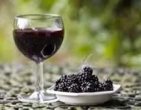 Вино из шелковицы фото