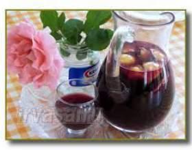 Вино сангрия фото